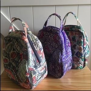 Three Vera Bradley Lunch Bags